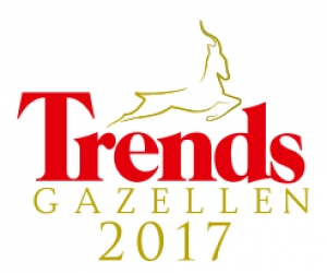 Caeleste is the 5th highest ranked 'Trends Gazelle' in Antwerp!