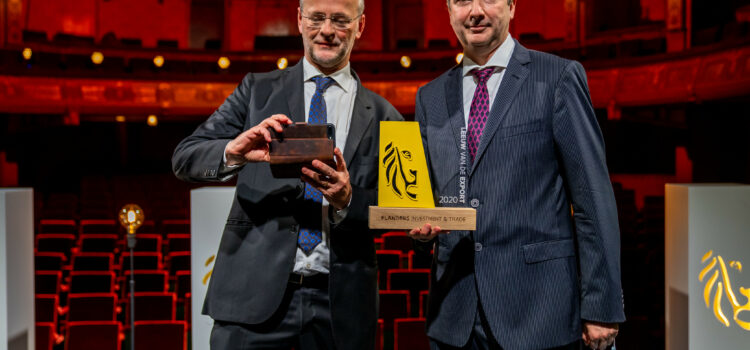 Caeleste wins the 2020 Export Lion Awards