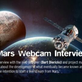 The Mars Webcam Interview: development, challenges and unique features of a camera in space